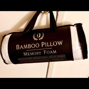 Dahdoul 2 Pack King 3D Bamboo Style Boutique Pillows